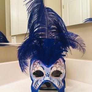 Butterfly Italian Mask - La Maschera Del Galeone